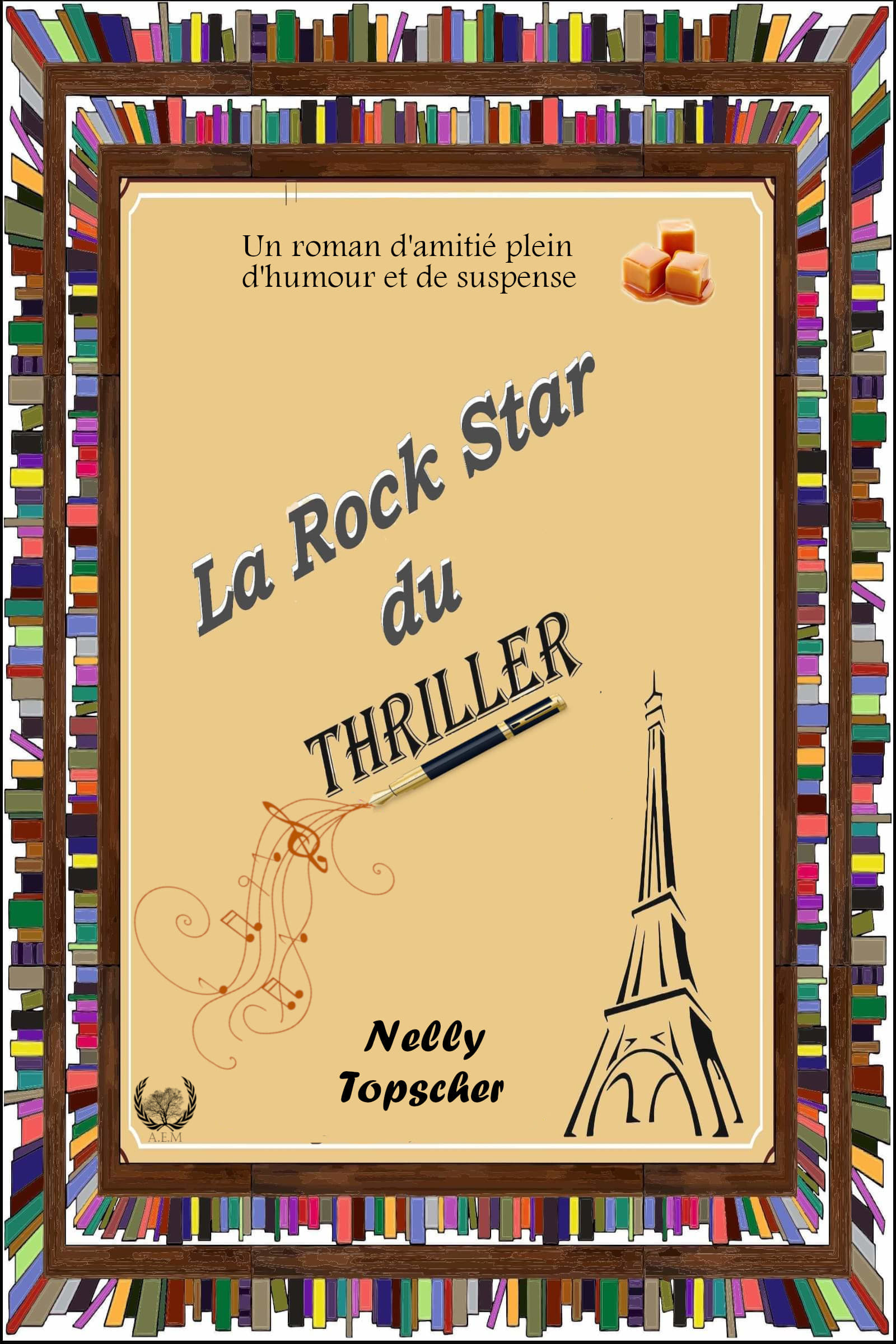 La Rock Star du Thriller – Nelly Topscher