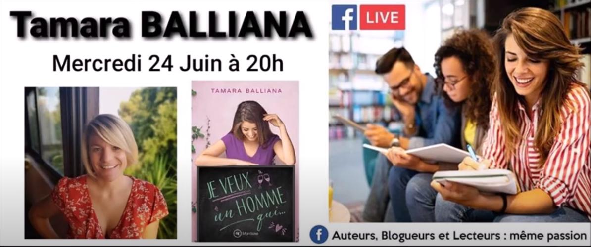 Tamara Balliana en Live