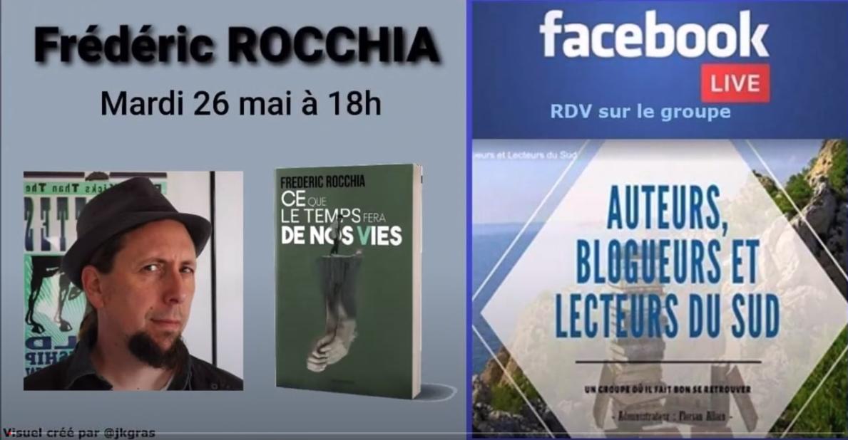 Frédéric Rocchia en Live