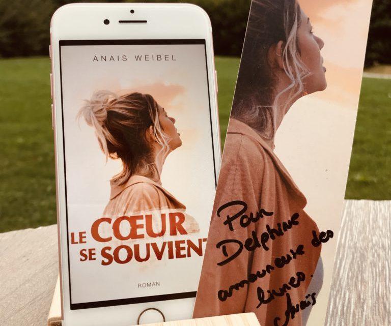 Le cœur se souvient – Anaïs Weibel