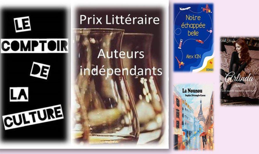 Prix Littéraire des Auteurs Indépendants et en petite M.E.